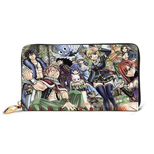 XCNGG Die bewegliche Castle Leather Zipper Wallet Clutch von Japanese Anime Howl...
