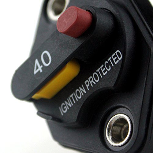 Circuit Breaker 40A with Manual Reset