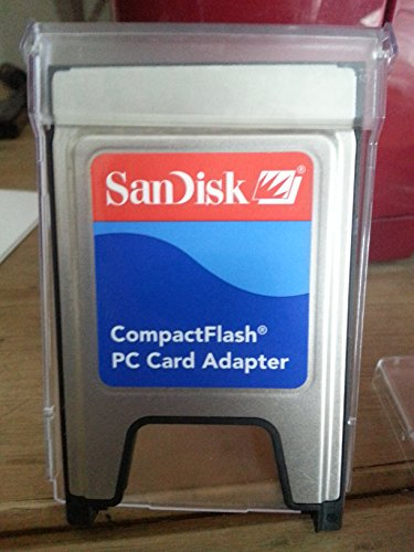 SanDisk CompactFlash PC Card Adapter Card Reader – Card Readers (54 x 85.6 x 5 mm)