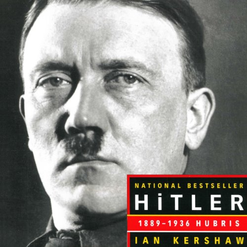 Hitler 1889-1936: Hubris audiobook cover art