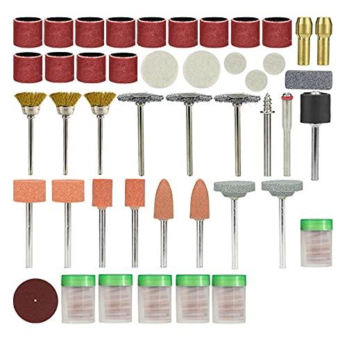 217 stücke Drehwerkzeuge Zubehör Set für Mühle Elektrische Bohrmaschine Schleifwerkzeuge Schneiden Polierbohren Rotation Werkzeug