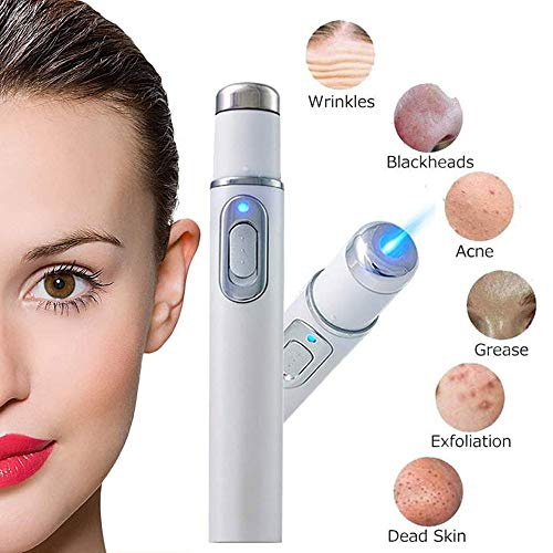 Lápiz Láser para Tratamiento de Venas Varicosas con Terapia de Luz Azul para Eliminación de Cicatrices y Arrugas Borrador de Vena Araña Productos de Belleza para Cuidado de la Piel