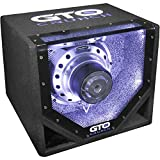 Crunch GTO 10 BP - 25cm Bandpass Subwoofer