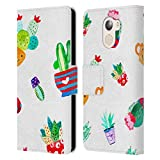 Official Haroulita Cactus Plants Leather Book Wallet Case
