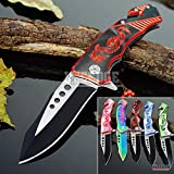 KCCEDGE BEST CUTLERY SOURCE EDC Pocket Knife Camping Accessories Razor Sharp...