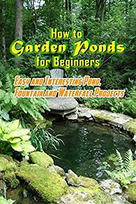 How to Garden Ponds for Beginners: Easy and Interesting Pond, Fountain and Waterfall Projects: Garden Ponds At Home