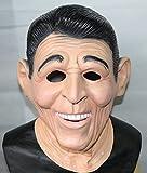 Le caoutchouc plantation TM 619219292672Ronald Reagan EX President Masque Latex américain Déguisement Tête complète accessoire de costume, adulte, taille unique
