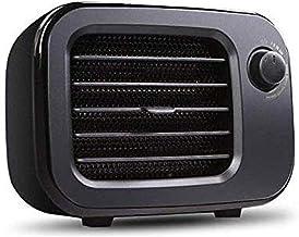 Calefactor Handy Heater de Espacio Personal, Calentador Eléctrico Portátil Máquina de Calentamiento Rápido con 3 Ajustes, Estufa para el Hogar/Oficina - Negro