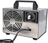 Cacoffay Ozono Generador Máquina Casa Formaldehído Eliminación Coche Ozono Desinfección Máquina, para Olor Eliminar Aire Esterilización Ozono Máquina,A