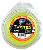 Maxpower 338802 Premium Twisted Trimmer Line .095-Inch Twisted Trimmer Line 40-Foot Length
