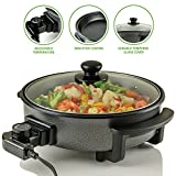 Best Electric Frying Pans - Ovente Electric Skillet 12 Inch with Non Stick Review