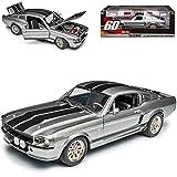 Ford Shelby Mustang GT500 Eleanor Nur Noch 60 Sekunden 1/18 Greenlight Modell Auto