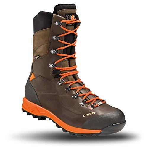 CRISPI Schuhe Schuhe Stiefel Titan Braun Orange GTX 42
