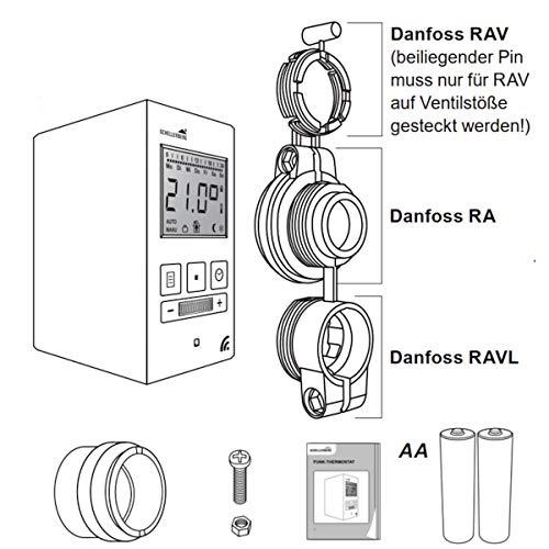 Schellenberg Smart Home Funk-Thermostat weiß - 5