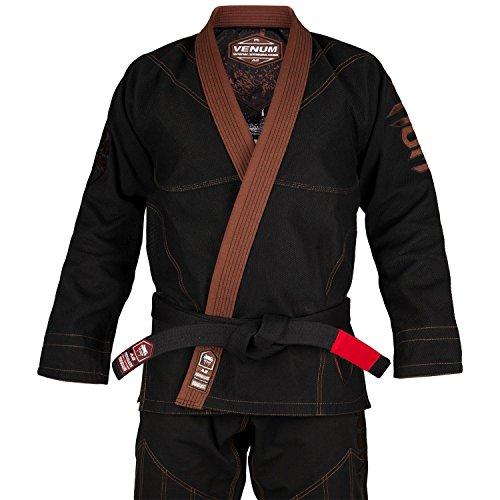 Venum Absolute Gorilla Gi Kimono BJJ, Unisex Adulto, Negro/Marron, A4