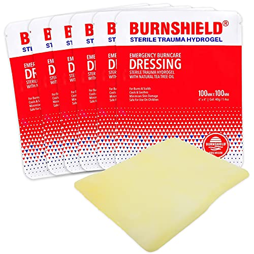 Burnshield 4' X 4' Burn Dressing, Sterile - 6 Count