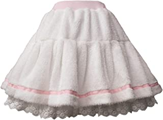 White Sweet Girls Womens Plush Lolita Skirt Pantskirt