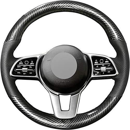 HCDSWSN Fundas para Volante de Coche,para Mercedes-Benz Clase A Clase B Clase C Clase E Clase CLS Cl