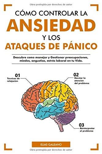 Cómo Controlar la Ansiedad y los Ataques de Pánico: Descubre como Manejar y Gestionar preocupaciones, miedos, angustias, estrés laboral en tu Vida.