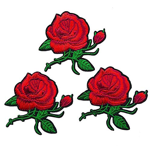 Embroidered Rose - 7