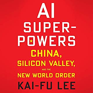 AI Superpowers audiobook cover art