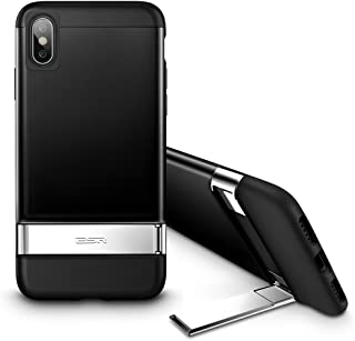 ESR Metal Kickstand Case for iPhone Xs/X, [Vertical and Horizontal Stand] [Reinforced..