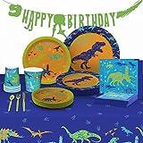My Greca Dinosaur Party Supplies - (Serves...
