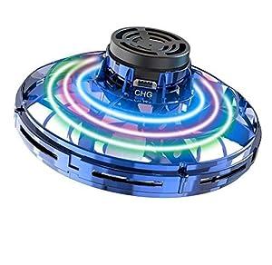 UFO Drone, Drone per Bambini con Tecnologia a Sensori Intelligenti, Quattro Tipi di Modalità di Gioco di Volo, Luci Colorate a LED, Ricarica Rapida USB, Regalo Ideale per Natale / Compleanno