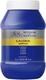 Winsor & Newton Tinta Acrílica Galeria W&N 1 Litro 660 Ultramarine
