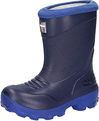 Viking FROST FIGHTER, Unisex-Kinder Schneestiefel, Blau (Navy/blue), 24 EU (7 UK)