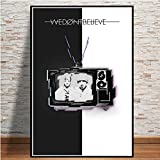 Twenty One Pilots Music Band Canvas Painting Art Posters