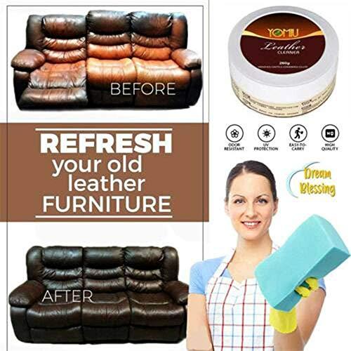 Multifunktionale Leder Sanierung Reiniger Auto Sitz Sofa Leder Reinigung Creme Alle-Zweck Leder Reparatur Conditioner