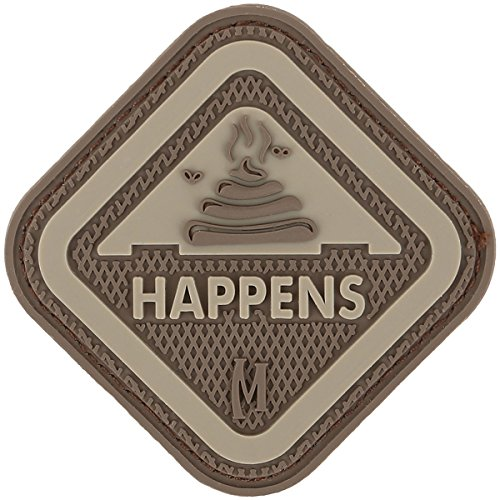 Maxpedition Gear It Happens Patch, Arid, 2 x 2-Inch