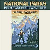 小さな変更国立公園:Wpa 2021 ミニカレンダー、1 EA