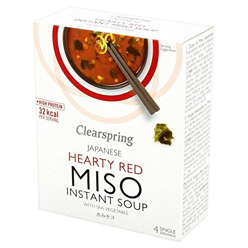 Max 42% OFF Clearspring Red Miso Soup Sea Vegetable x 10g - overseas 0.09lbs 4