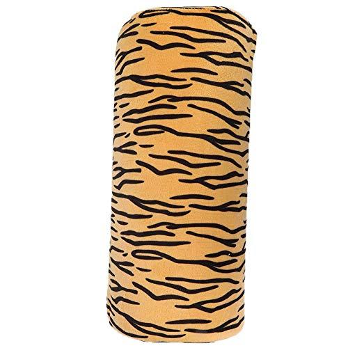 [𝐂𝐡𝐫𝐢𝐬𝐭𝐦𝐚𝐬 𝐜𝐨𝐦𝐢𝐧𝐠]Almohada de mano suave, almohada de mano desmontable, exquisito diseño extraíble tienda de manicura para salón de belleza en casa tienda(Tiger Hand Pillow)