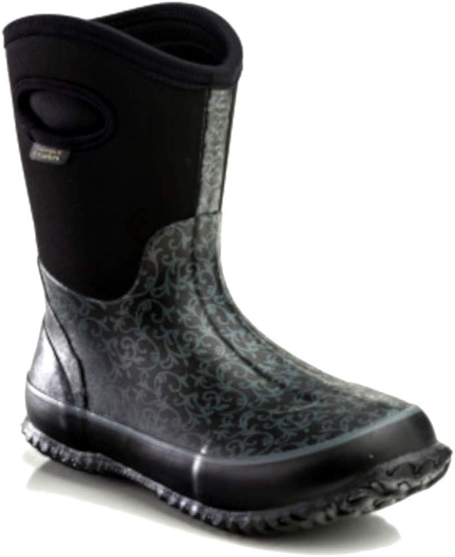 Perfect Storm Women's Cloud Mid Black boots 6 M
