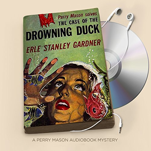 The Case of the Drowning Duck audiobook cover art