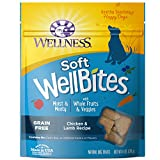 Wellness WellBites Chicken & Lamb Recipe Soft & Chewy Dog Treats, 6 Ounce Bag