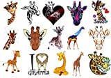 Giraffe Collection (Giraffe Temporary Tattoos)