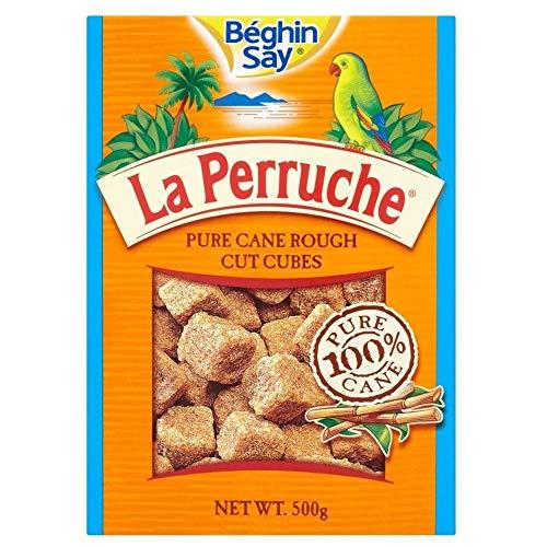 La Perruche Rough Cut Cubes De Sucre Brun 500G