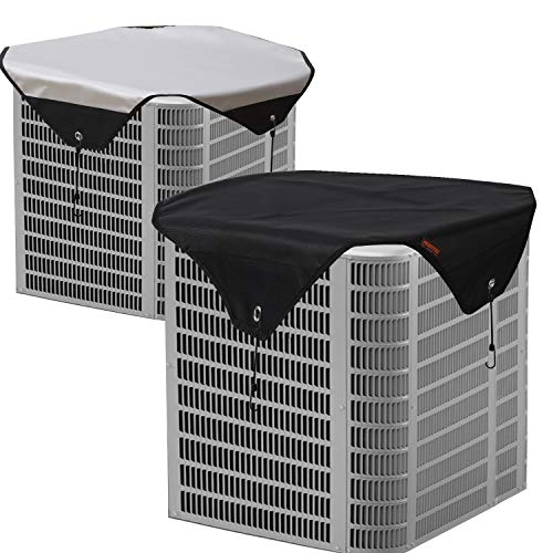 Perfitel AC Cover for Outside Units -Central air Conditioner Cover Defender-Waterproof Heavy Duty Top Air Conditioner Cover (36X36 inch)