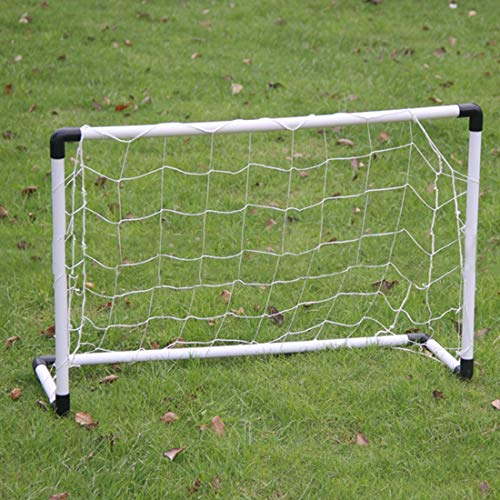 UICICI Fußballtor Klapp Kinder Erwachsene gemeinsamen Indoor-Outdoor-Montage einfache Ziele Mini Ziel (Farbe : White)