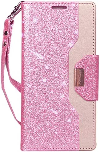 ProCase Galaxy Note 9 Wallet Case Flip Kickstand Case with Card Slots Mirror Wristlet Folding product image