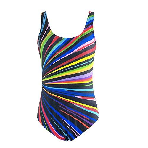 FRAUIT Trikini Donna Mare Push Up Brasiliana Costume Intero Ragazza Taglie Forti Senza Spalline Plus Size Oversize Costumi Mare Bikini Sexy Interi Bikini Triangolo Piscina