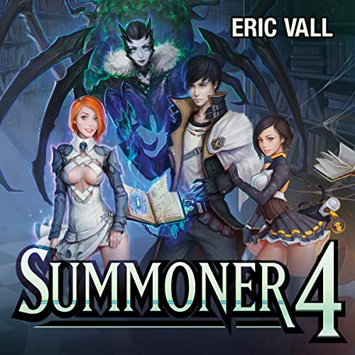 Summoner 4 audiobook cover art