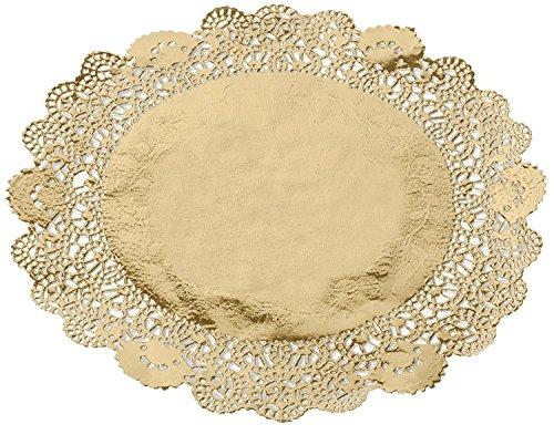 Juvale Dentelle napperons en papier/ /Napperon papier chemin de table Cake Box Liner 26,7/cm/ /Lot de 250
