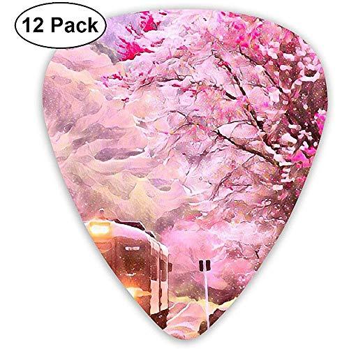 Elección de la guitarra japonesa clásica de celuloide Cherry Blossom Pink para...