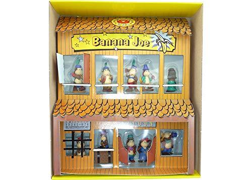 Diorama von Banana Joes Freunde von Rübezahl Koch (10 Figuren im Schaukasten)