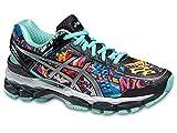 ASICS Women's Gel-Kayano 22 NYC Marathon Running Shoes New York/City/2015 (5.5) Turquoise